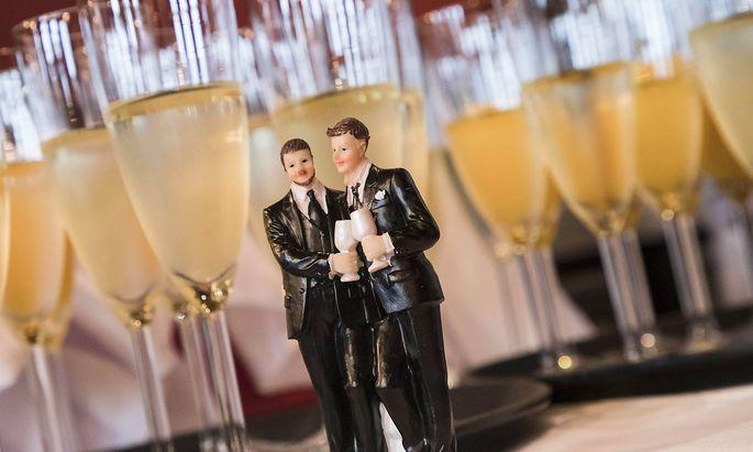 Gleichgeschlechtliche Hochzeit in Berlin