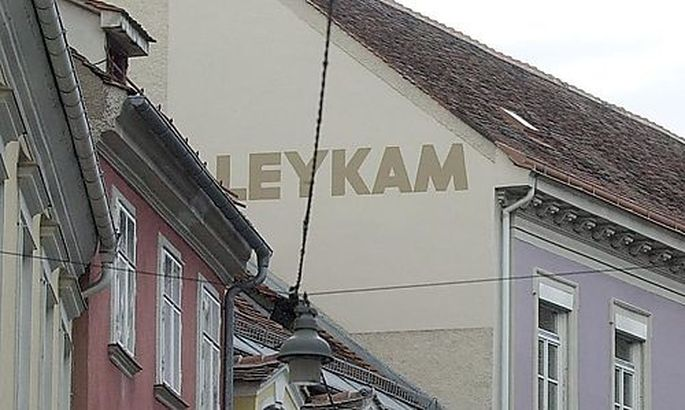 Symbolbild: Werbung der Firma Leykam