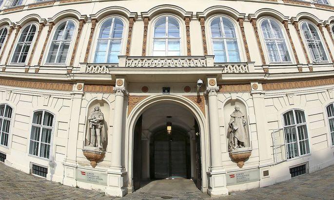 Archivbild: Das Außenministerium in Wien am Minoritenplatz,