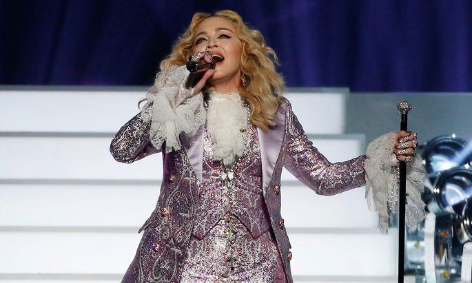Archivbild von Madonna - wird sie auch am Samstag beim Song Contest-Finale singen?