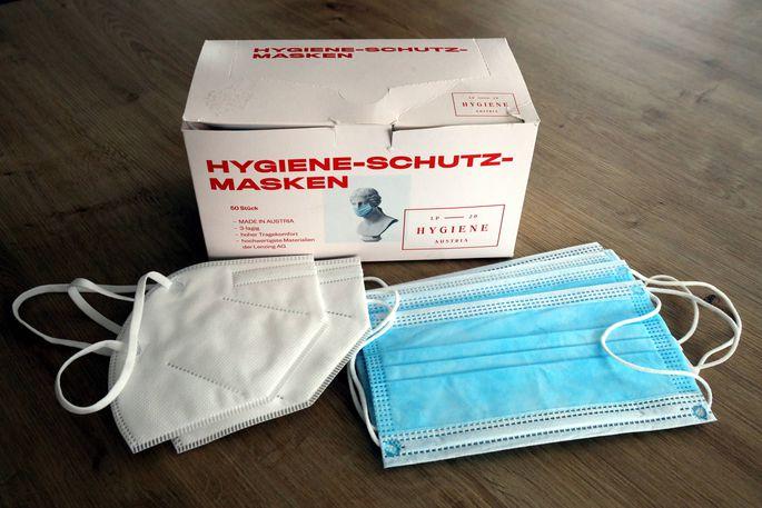 """""""Hygiene Austria""""-Masken"""