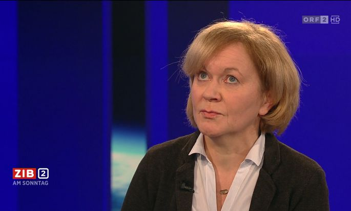 """Sie ist gerade allerorts: In der """"ZiB 2 am Sonntag"""" wurde Susanne Wiesinger fair befragt, im Morgenjournal nicht wirklich."""