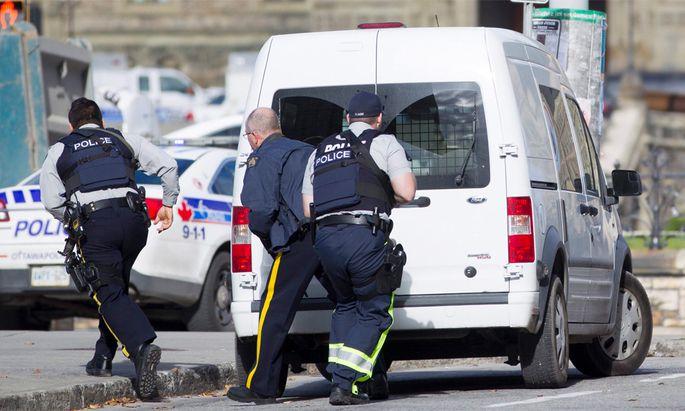 Terror-Alarm in der kanadischen Hauptstadt Ottawa.