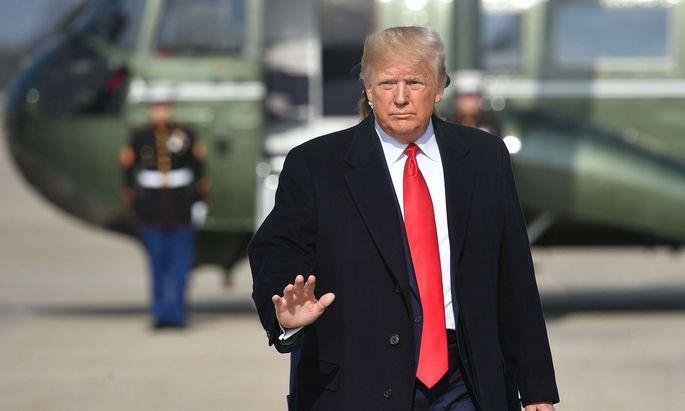 An Donald Trump perlt alles ab - und er weiß es.