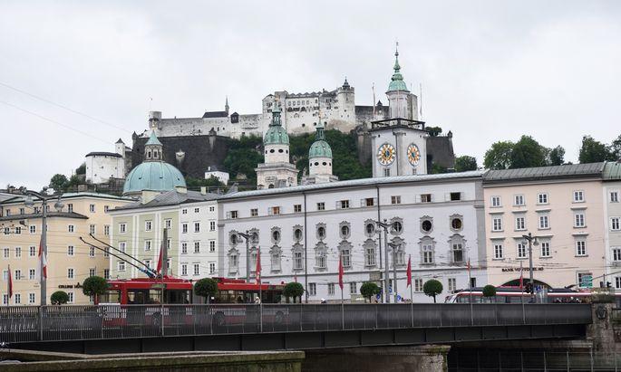 Die Stadt Salzburg wird bei Touristen immer beliebter.