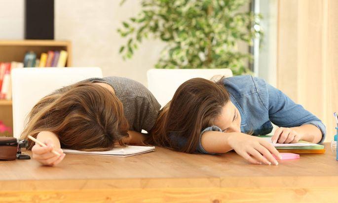 Die Zeit, in der eine Schularbeit den nächsten Test und der wieder das nächste Referat jagt.