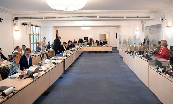 U-Ausschuss: Sitzungslokal