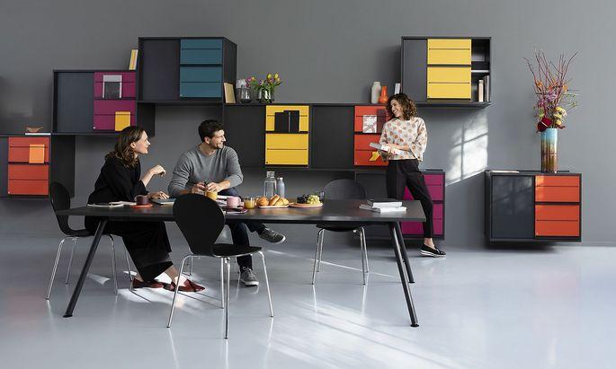 "Neue Büromöbel-Serie ""MyMotion"" von Neudörfler."