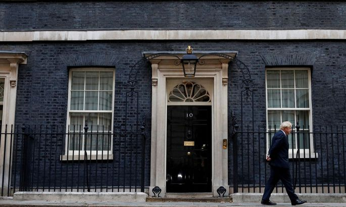 Der britische Premier, Boris Johnson, strebt Neuwahlen an. Er will in der Downing Street bleiben.