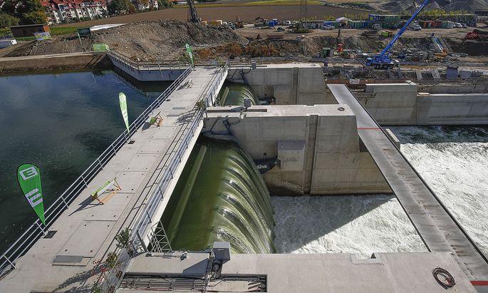 ENERGIE STEIERMARK AG 'OFFIZIELLE INBETRIEBNAHME DES MURKRAFTWERKS GRAZ'