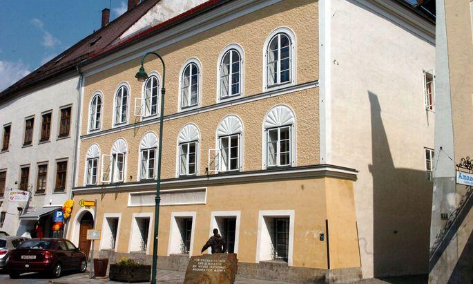Hitlers Geburtshaus in Braunau