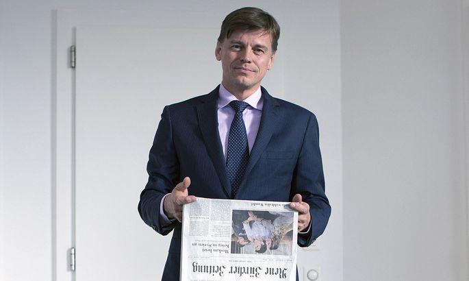 Veit Dengler ist seit 2013 Firmenchef der Schweizer NZZ-Mediengruppe.