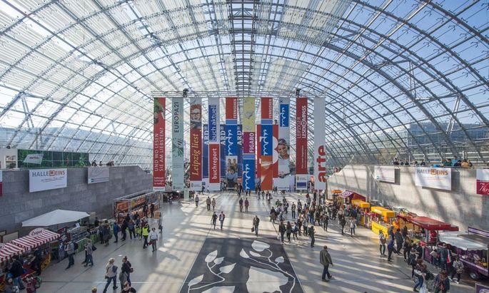Leipziger Buchmesse (Archivbild)