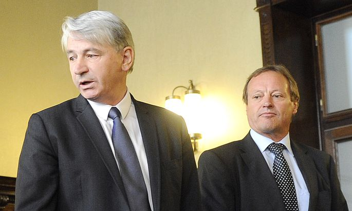 Wolfgang Kulterer und Günter Striedinger müssen vor Gericht (Archivbild).