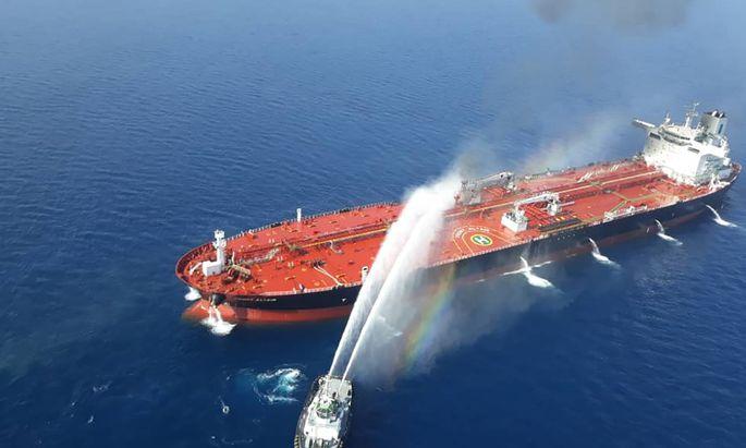 Mit dem Angriff auf Tankschiffe begann der Konflikt.