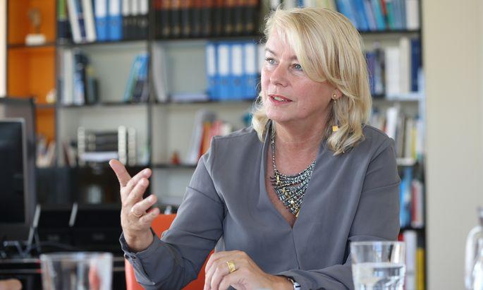 Edeltraud Hanappi-Egger ist Professorin für Gender und Diversität und leitet seit 2015 die WU.