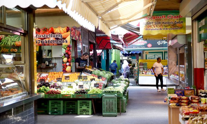 Marktstand in Wien