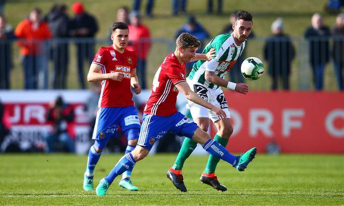 SOCCER - BL, Mattersburg vs Rapid