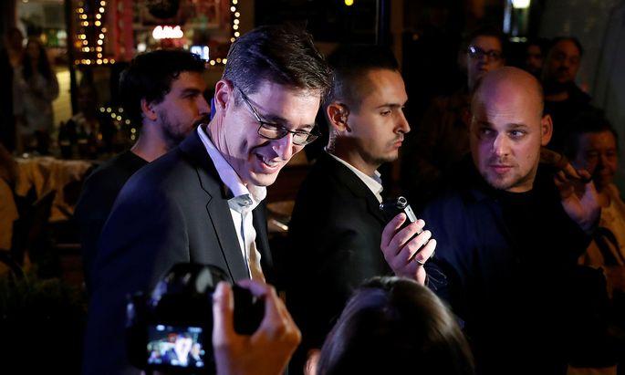 Gergely Karácsony feierte einen Wahlsieg in Budapest.