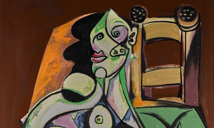 """""""Seated Woman"""" von Emil Filla erzielte 2017 bei Sotheby's den Rekord von 729.000 Pfund."""