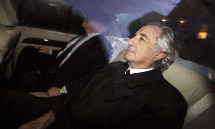 Bernie Madoff: Der Konstrukteur des bisher größten Schneeballsystems sitzt im Gefängnis. Für 150 Jahre.