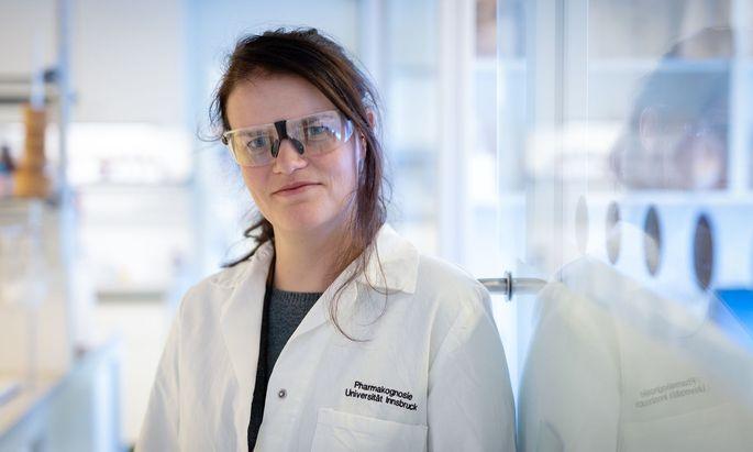 """An der Uni Innsbruck könne sie ihrer """"Schnapsidee"""" nachgehen, scherzt Bianka Siewert. """"Die Traumvorstellung für Grundlagenforscher."""""""