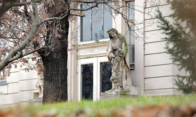 Villa Hohe Warte, ehemaliges städtisches Waisenhaus und Kinderheim der Stadt Wien.