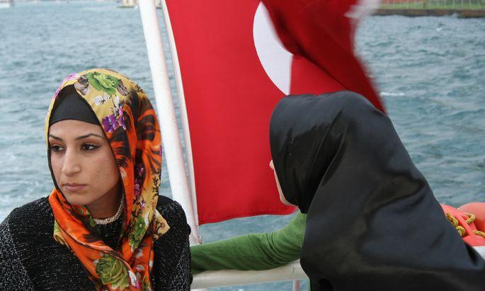 Türkei, Kopftuchstreit, Istanbul