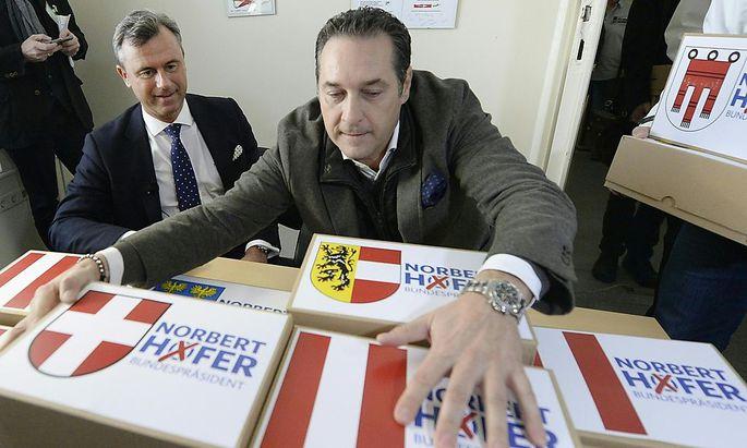 BP-Wahl: Hofer reichte über 20.000 Unterstützungserklärungen ein