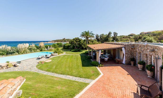 Wartet auf Käufer: Die Villa Guttuso nahe Olbia.