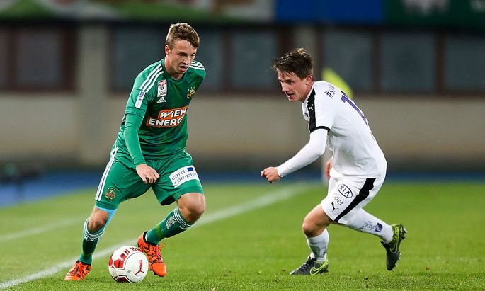 SOCCER - OEFB Samsung Cup, Rapid vs A.Salzburg