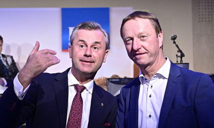 Norbert Hofer udn Johann Tschürtz