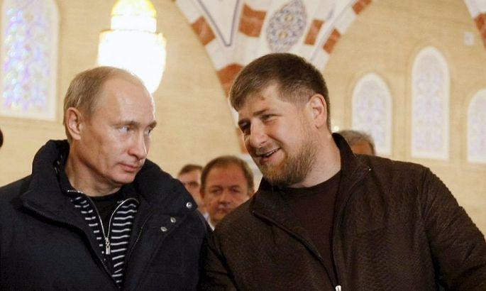 Putin, Kadyrow