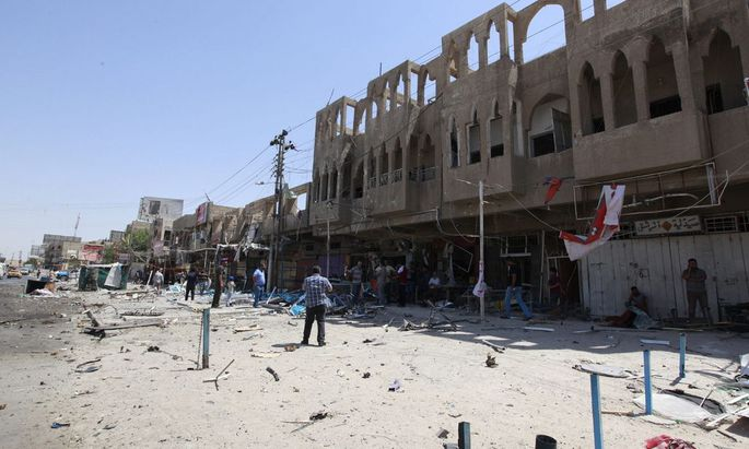 IRAQ CONFLICT BAGHDAD BOMBINGS
