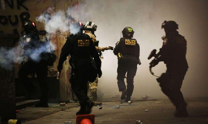 US-Bundespolizisten werden aus Portland abgezogen