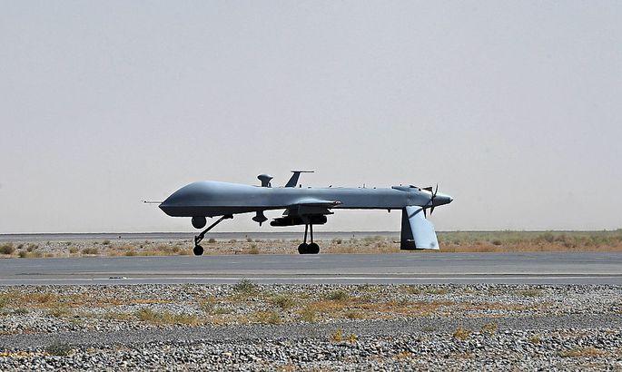 Tod per Fernsteuerung: US-Kampfdrohne vom Typ Predator