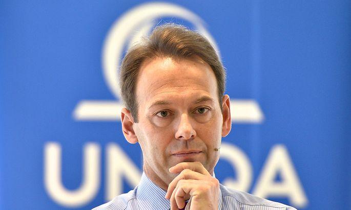 Uniqa-Vorstand Andreas Brandstetter.
