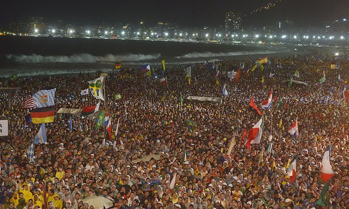 BRAZIL POPE FRANCIS WORLD YOUTH DAY