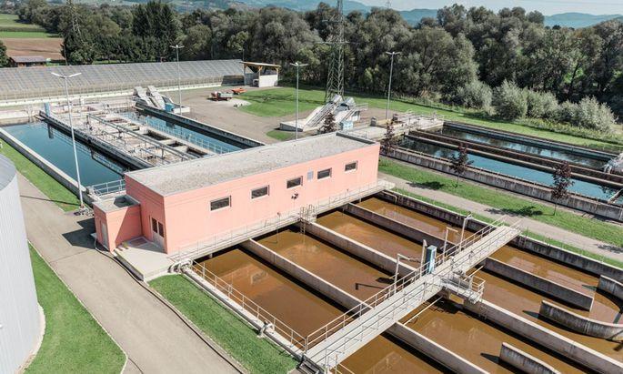 Kläranlage der Stadt Knittelfeld: In einem einzigen Container wurden zehn Prozent der Abwässer gereinigt.