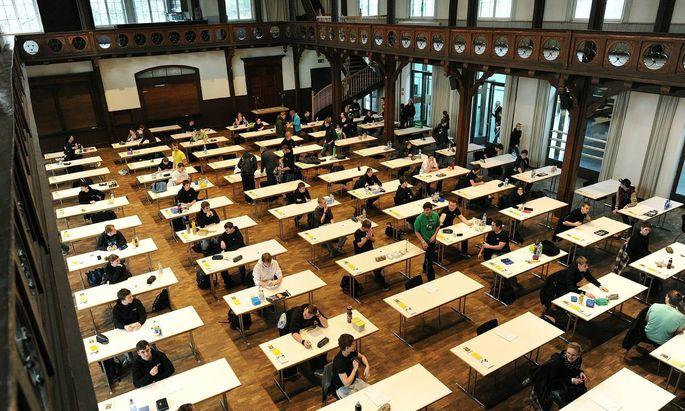 Auch in Deutschland werden die Abschlussprüfungen im Mai stattfinden