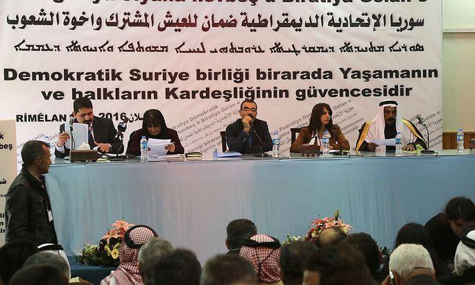 Konferenz in Syrien