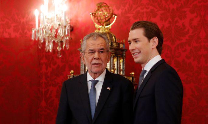 Bundespräsident, Alexander Van der Bellen soll Einschätzungen über Sebastian Kurz abgegeben haben.