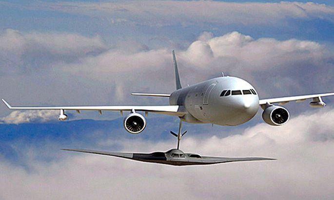 Das Tankflugzeug von EADS
