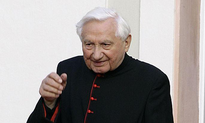 Der frühere Regensburger Domkapellmeister Georg Ratzinger
