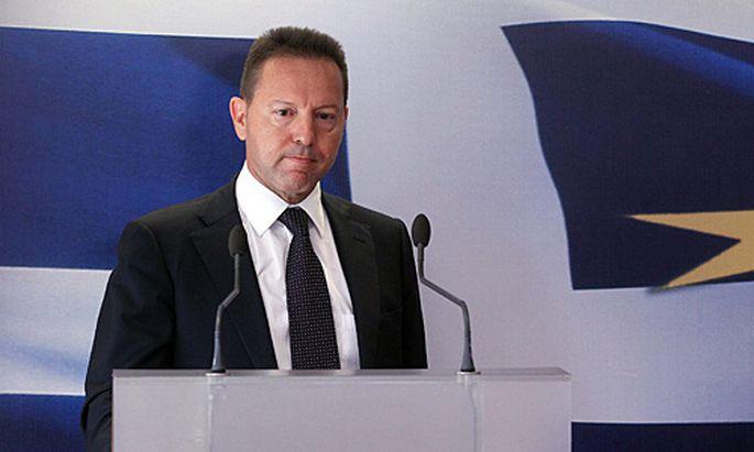 Griechenlands Finanzminister Yannis Stournaras