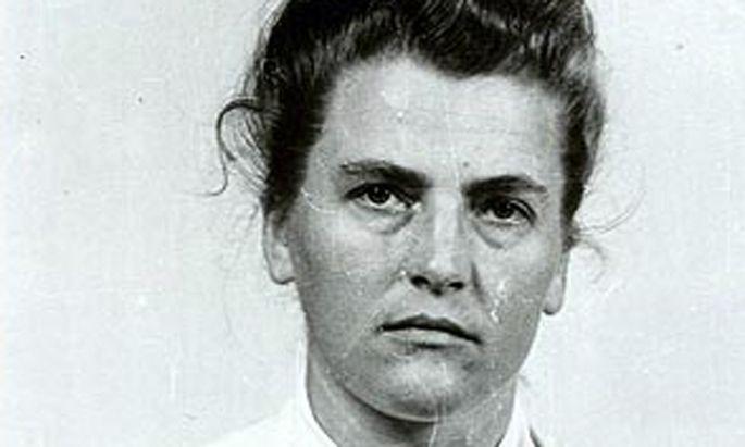 Maria Mandl wurde zum Tod verurteilt.