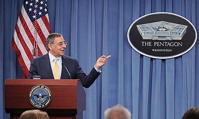 Archivbild: Verteidigungsminister Panetta