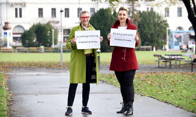 Iris Herscovici und Claudia Altmann-Pospischek, selbst Krebspatientin, haben sieben Lektionen kreiert, um Patienten zu mehr Schlagfertigkeit zu verhelfen.