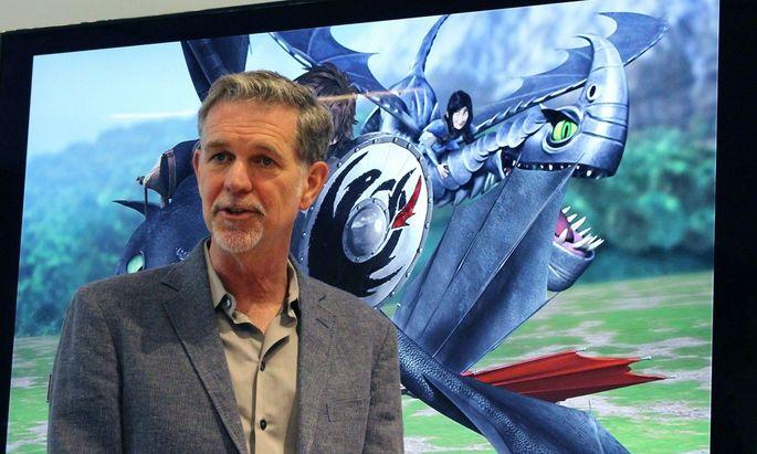 Reed Hastings will heuer acht Milliarden Dollar für Fernsehserien und Filme ausgeben