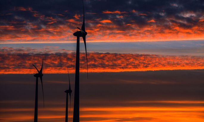 Sonnenaufgang in Mecklenburg-Vorpommern